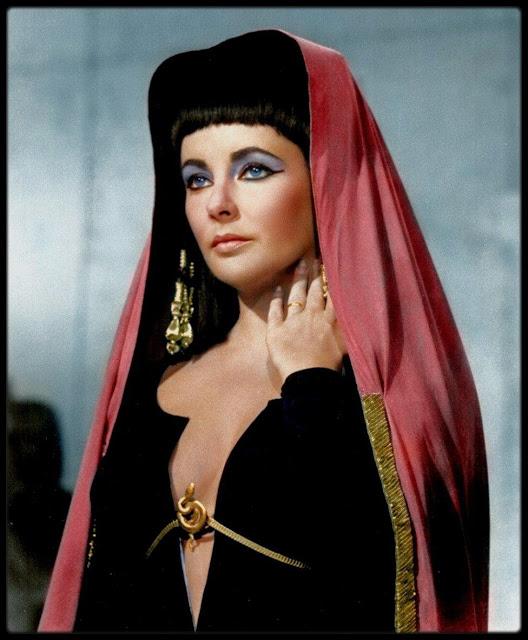 Elizabeth Taylor's wardrobe in Cleopatra is stunning.