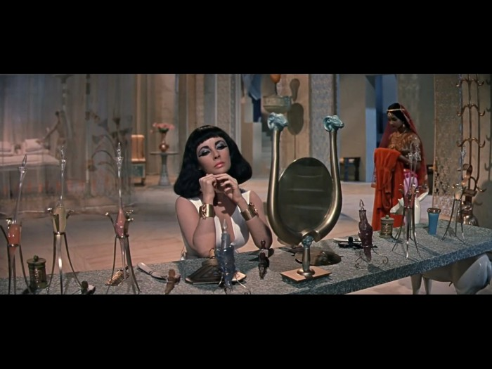 Elizabeth Taylor at Vanity in Cleopatra