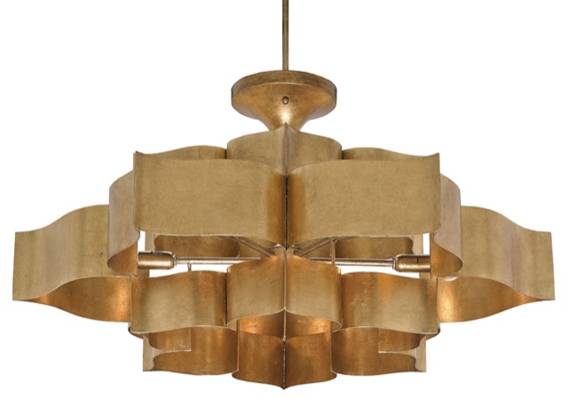 Grand Lotus Chandelier by Christina Pomroy.