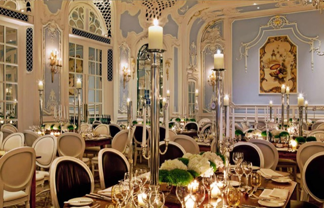 The Savoy in London decadent design