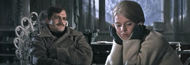 Sharif and Christie Dr Zhivago
