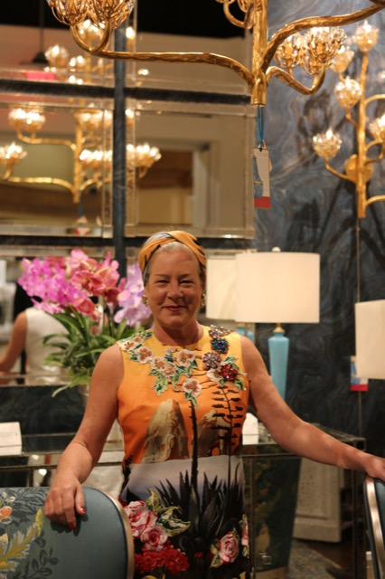 Marjorie Skouras at High Point Market