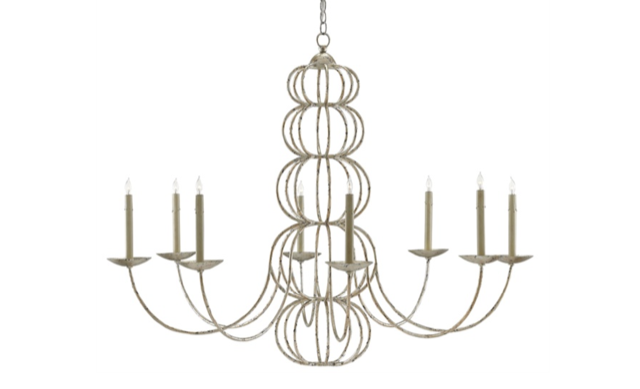 Clarion chandelier Currey and Company