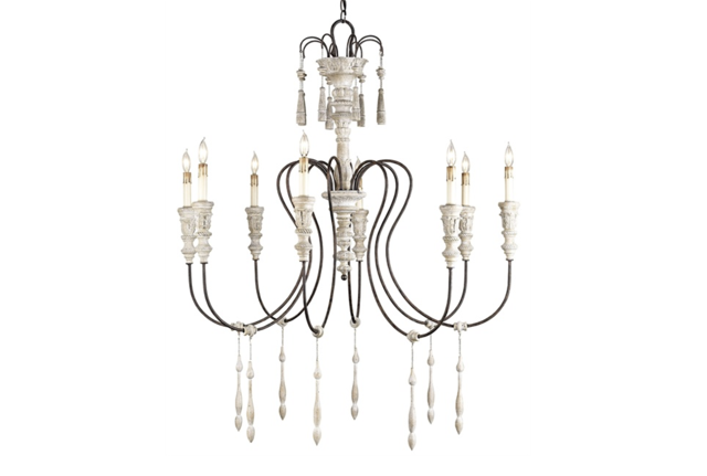 Hannah chandelier Currey and Company