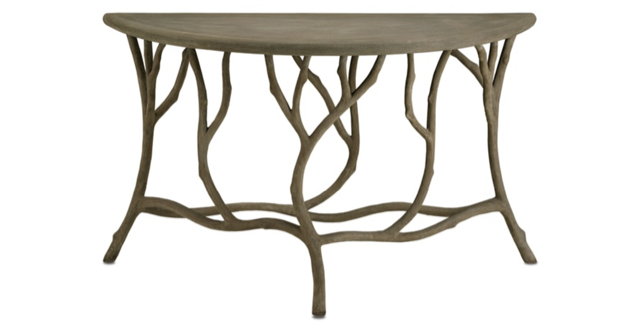 Hidcote Console Table Currey and Company