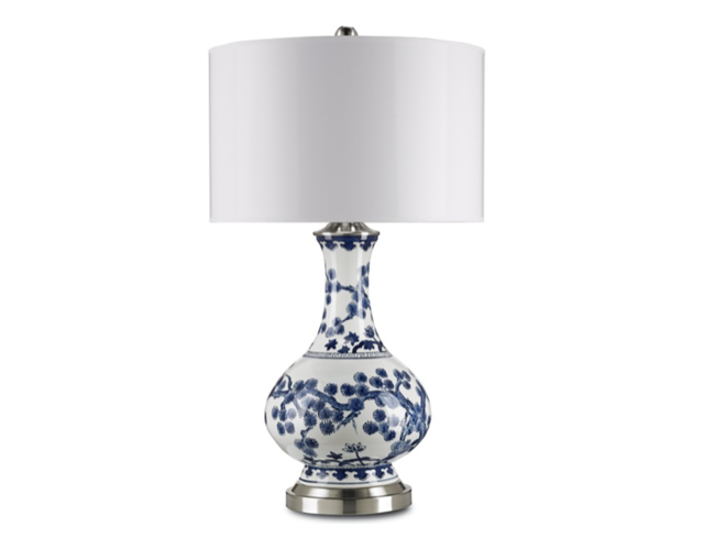 Jardin table lamp Currey and Company