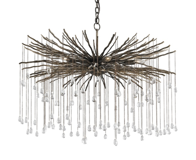 Fen chandelier as sparkly as a Harry Winston creation