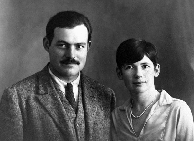 Ernest and Pauline Hemingway