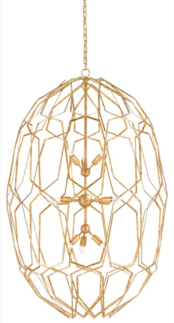 Currey and Company Albertine chandelier