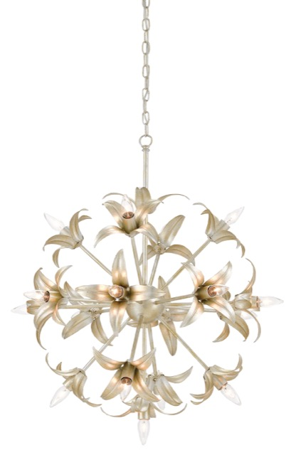 Carmen chandelier by Currey and Company