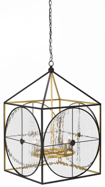 Sagamore lantern by Currey and Company