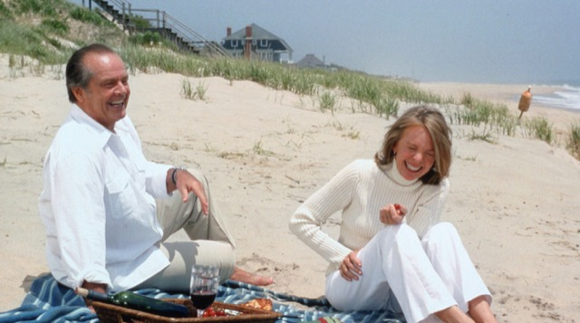 Diane Keaton Jack Nicholson Beach Scene