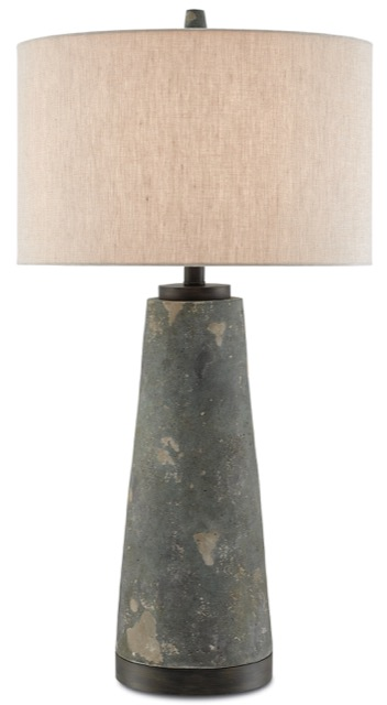Currey & Company Celadon table lamp