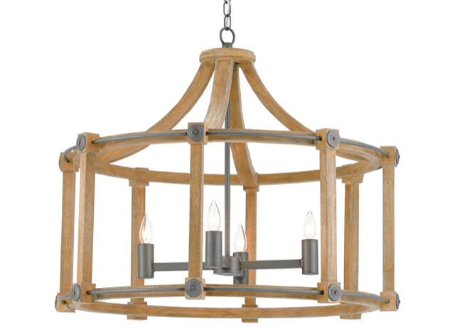Currey & Company Highbank chandelier