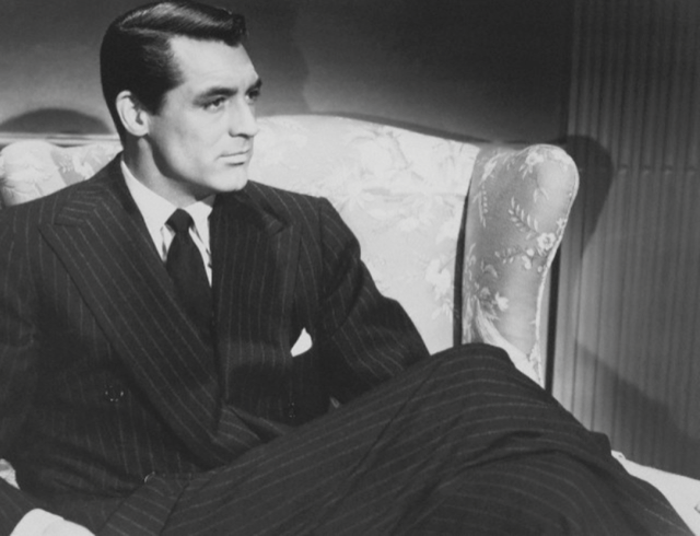 Cary Grant Pinstripe suit