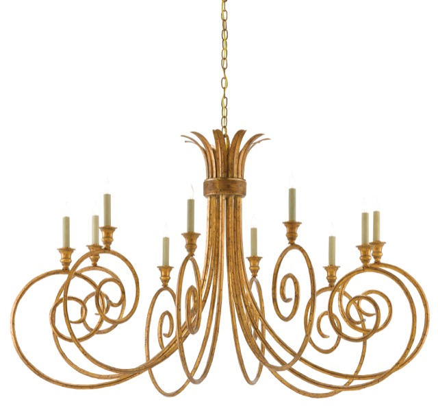 Eyelash Chandelier designed by Phyllis Morris