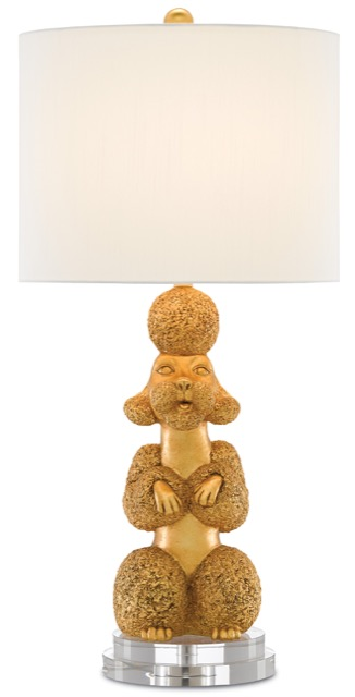 Poodle Lamp designed by Phyllis Morris