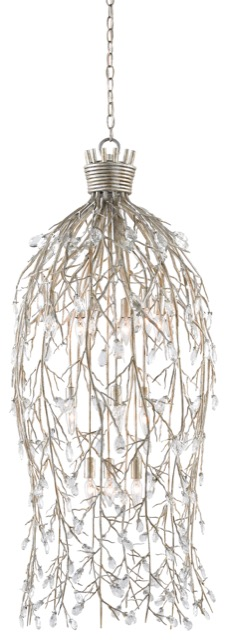 Currey & Company Crystal Bouquet chandelier