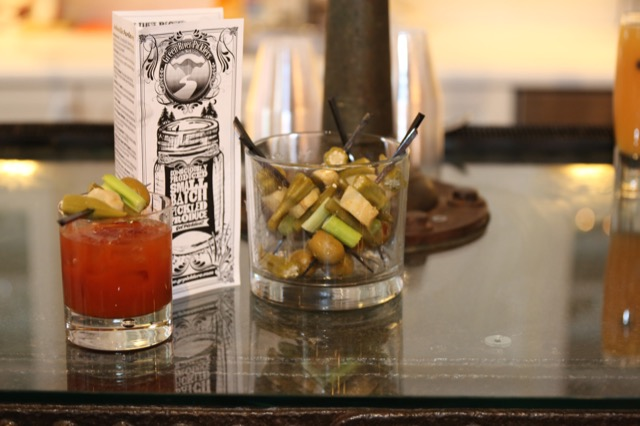 Libations at Currey & Co High Point