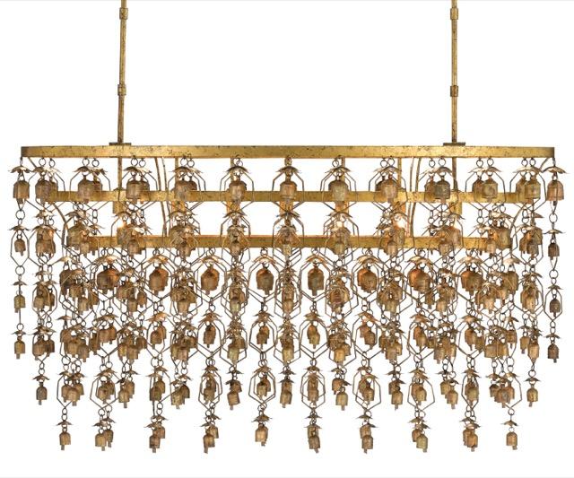 Currey & Company Shanti chandelier