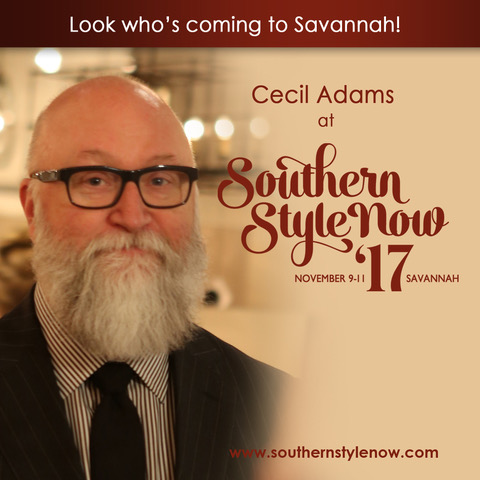 Cecil Adams at Southern Style Now