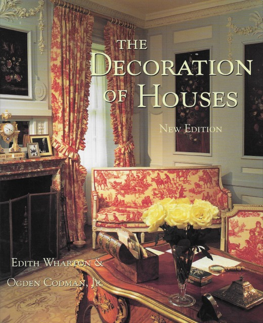 Cover of The Decoration of Houses