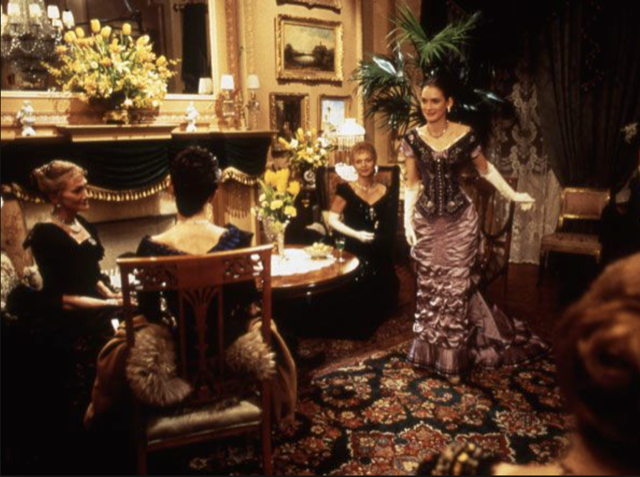 Decoration of Age of Innocence film