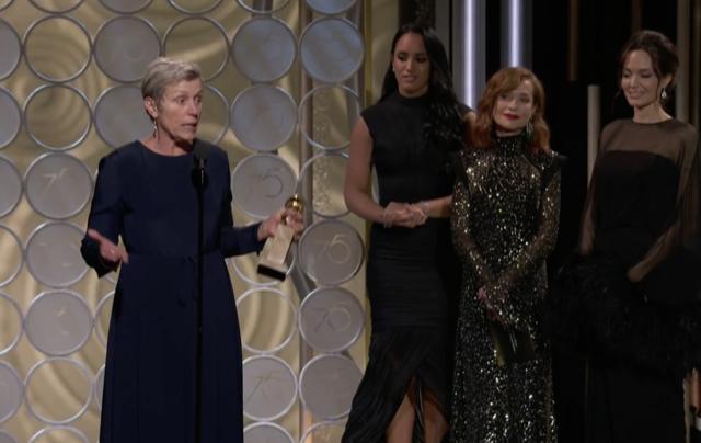 McDormand Wins Globe