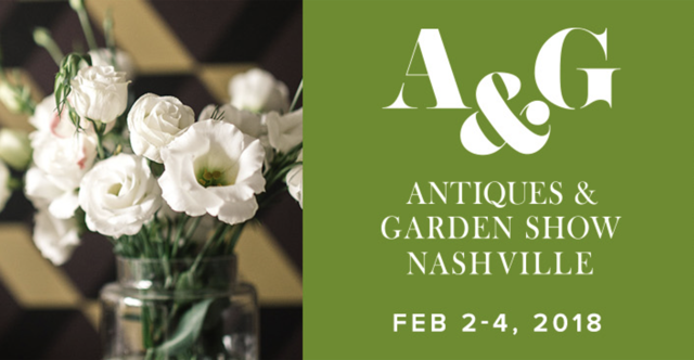 Currey at Nashville Antiques Garden Show