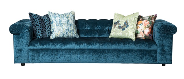 Currey & Company Party Sofa