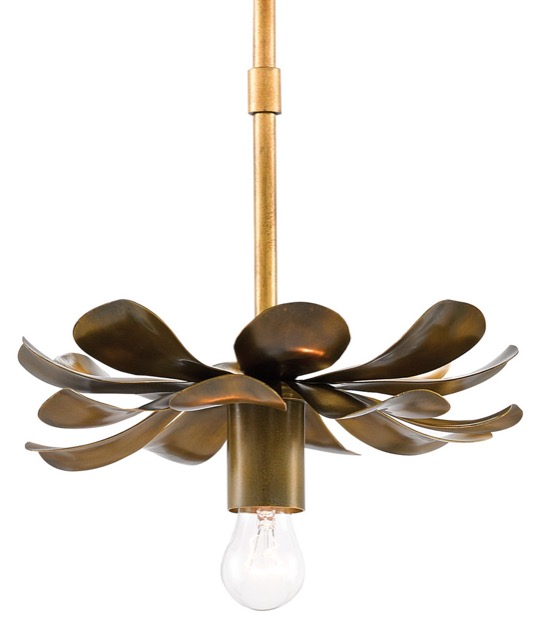 Ottoline pendant by Currey & Company
