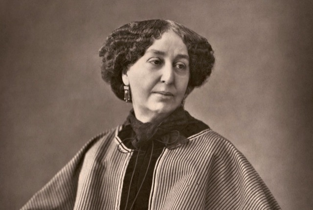 The writer George Sand