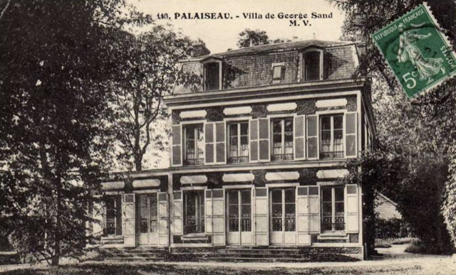 Postcard of Maison de George Sand