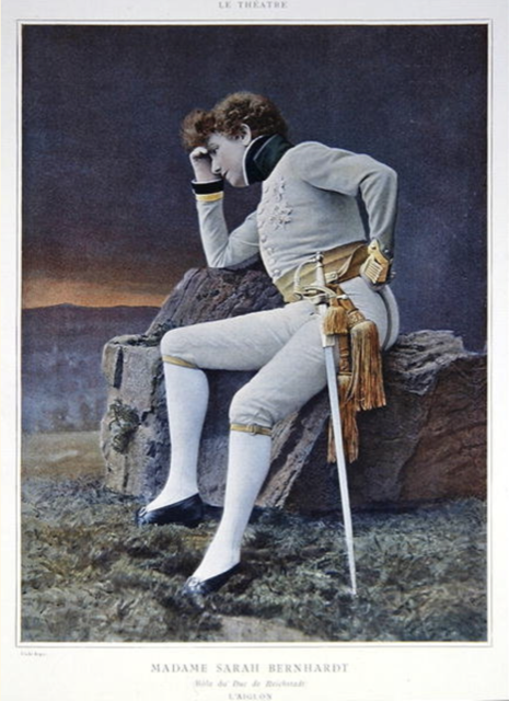 Sarah Bernhardt as Napoleon's son