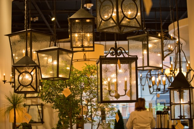 Outdoor lighting by Currey & Company