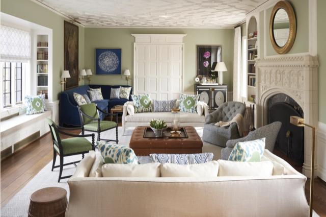 Bunny Williams living room at Julian Price