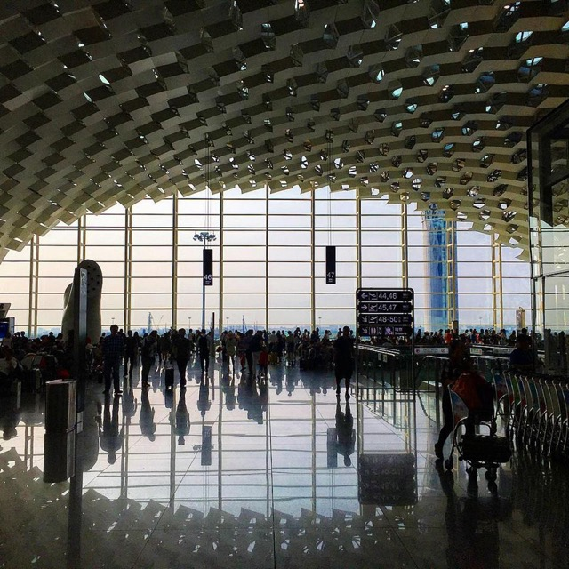 Beauty shot of airport in China
