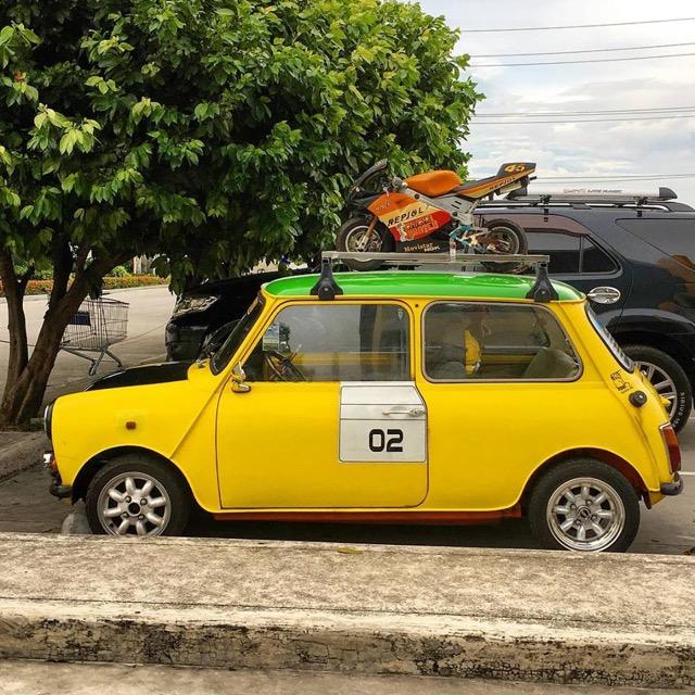 Tiny car in China