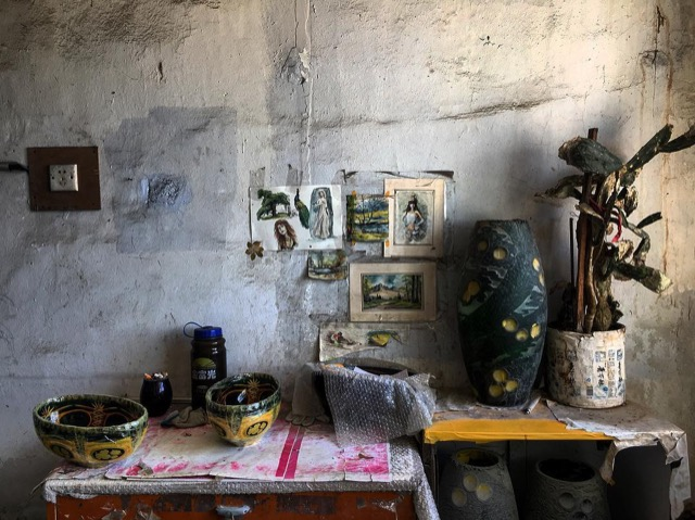 Pottery vignette in China by Brownlee Currey