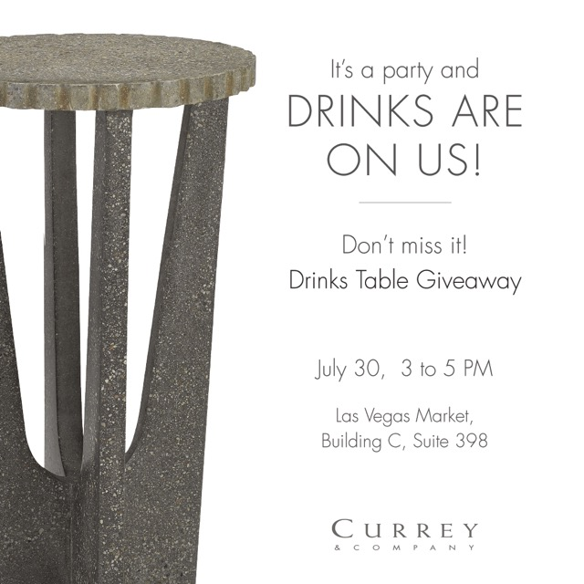Currey & Company giveaway LV Mkt