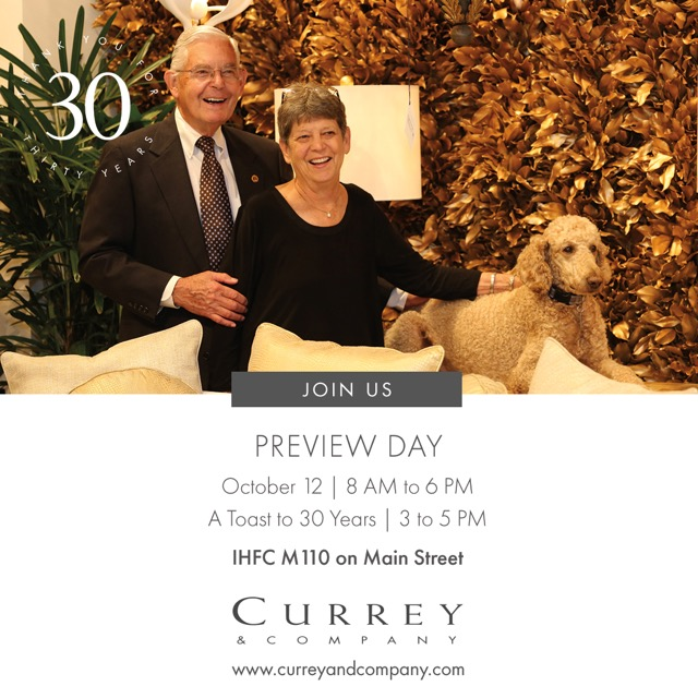 Join Currey & Company for Preview Day!