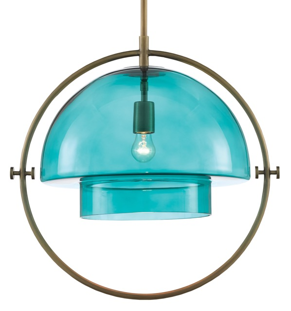 Astrid Pendant by Denise McGaha for Currey & Company