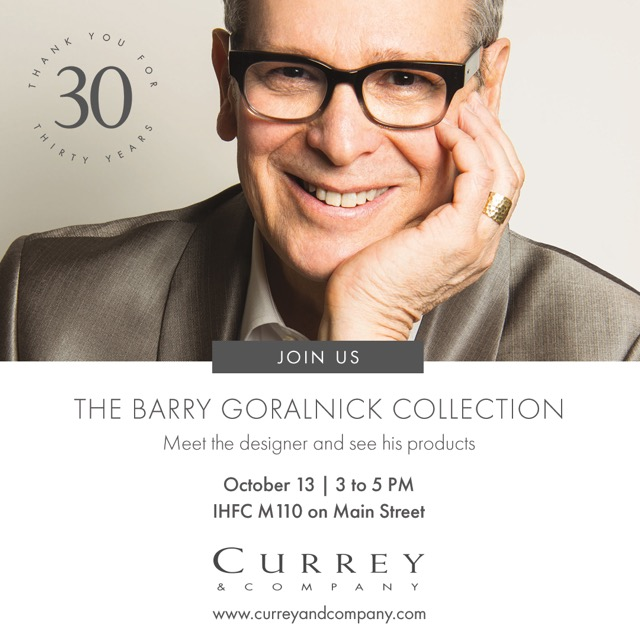 CurreyCo Barry Goralnick Collection developed with an eye to the architectonic