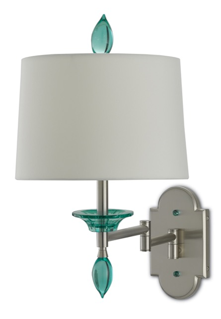 Blodgett Swing-Arm Wall Sconce by Barry Goralnick for Currey & Company