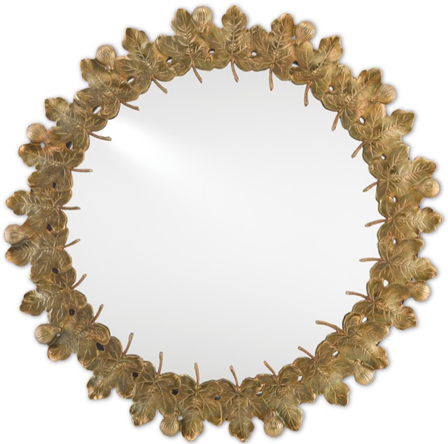 Figuier Mirror by Marjorie Skouras for Currey & Company