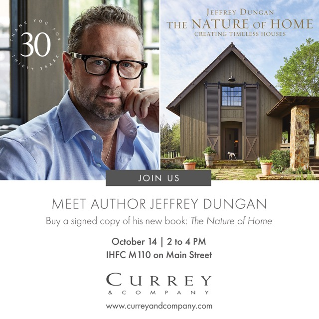 Jeffrey Dungan signs his new book at CurreyCo that proves his unerring eye for illumination