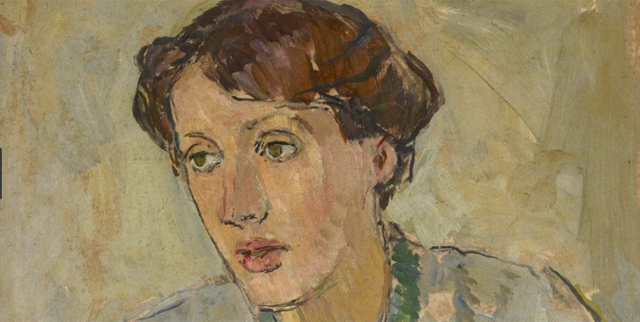 Virginia Woolf, painted by Vanessa Bell, said the eye rests only on beauty