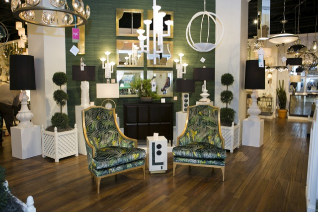 Currey & Company High Point Showroom