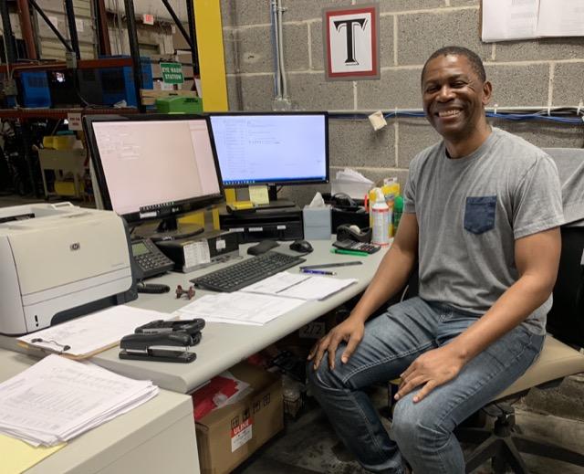 Tony Yakusu, a valued employees