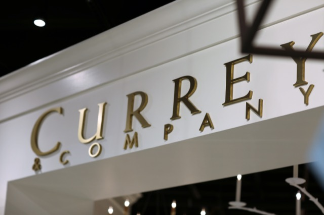the new expanded Currey & Company showroom in Dallas